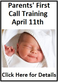 Click Here to Register for First Call New Parent Support Volunteer Training