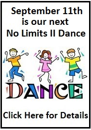 Our Next No Limits II Dance Will Be On September 11th!