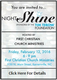 Night to Shine Prom - Click Here for Info