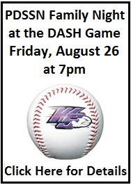 PDSSN Family Night at the Dash Game